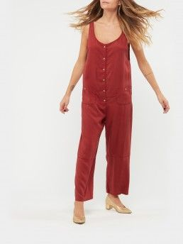 OVERSIZE JUMPSUIT WITH BUTTONS